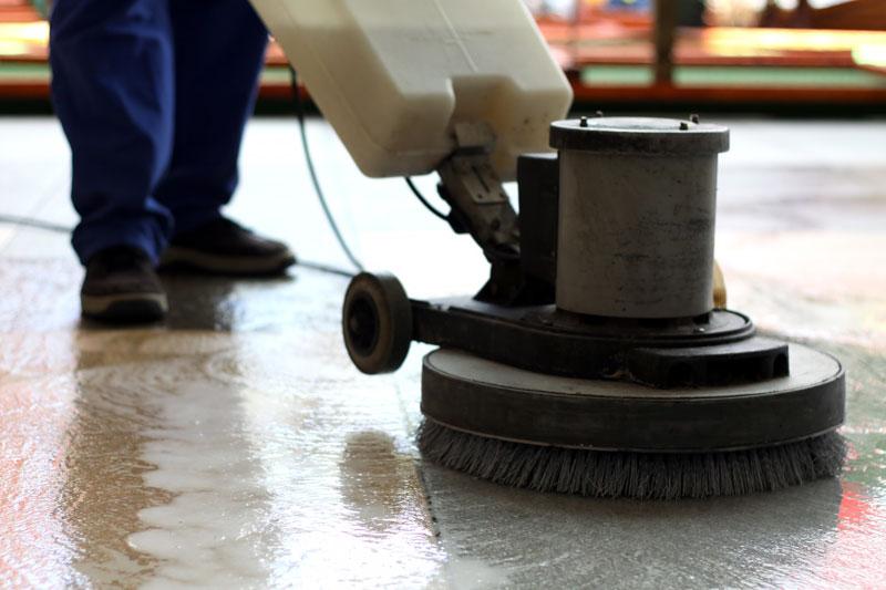 Décapage nettoyage des sols