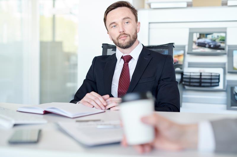 salesman-working